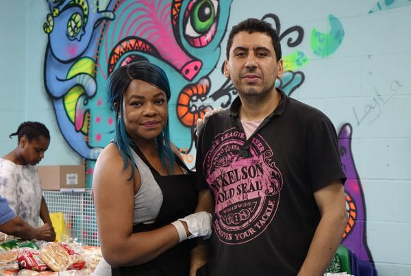 Food Bank Volunteers Dalgarno Trust