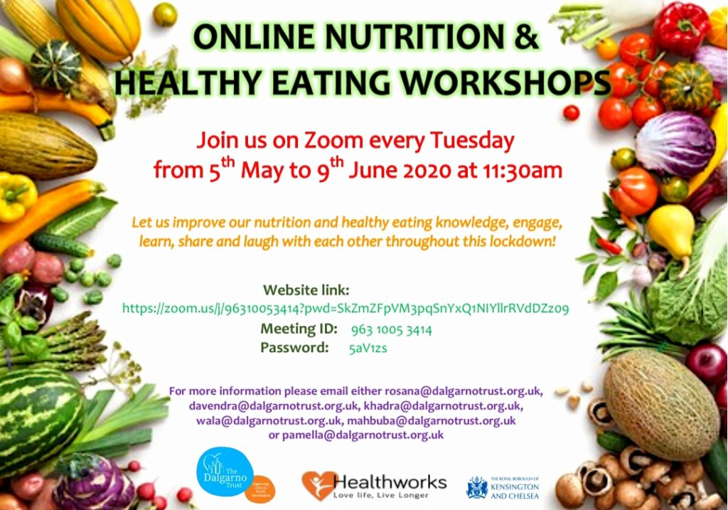 Healthy eating and nutrition workshop