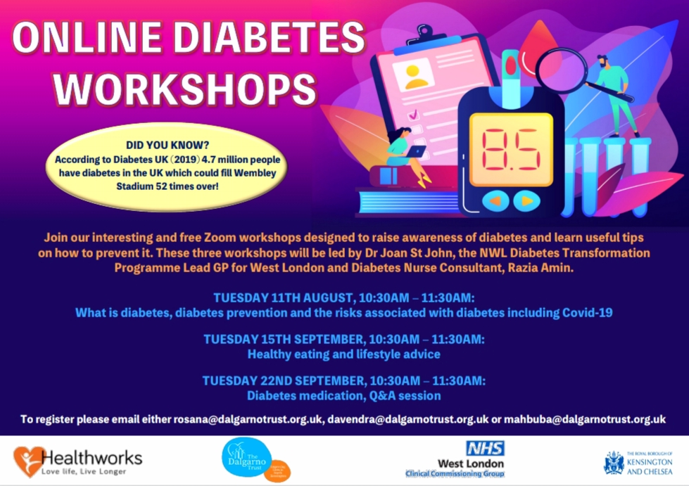 Diabetes workshops
